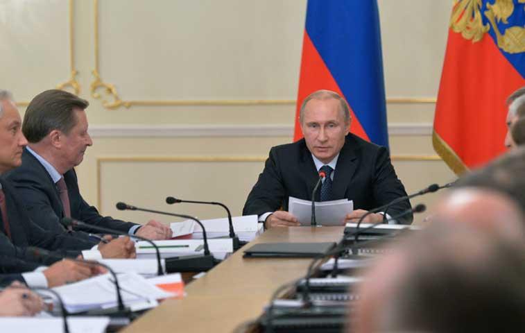 Rusia anuncia un plan anticrisis para contener la recesión