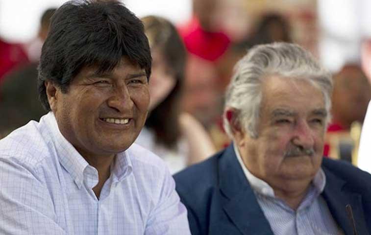 Presidentes de Bolivia y Uruguay a la UCR
