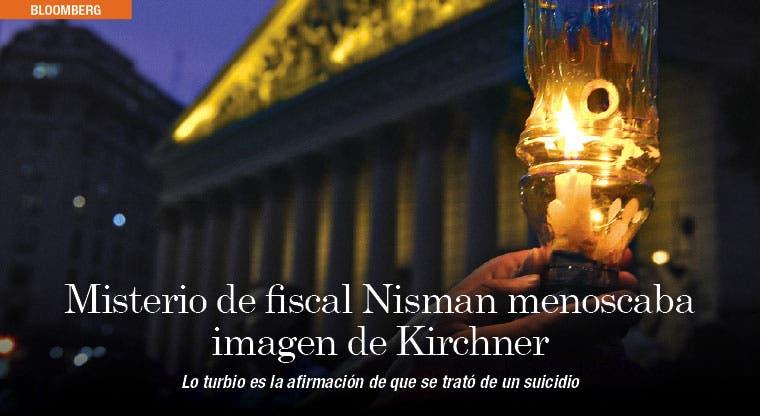Misterio de fiscal Nisman menoscaba imagen de Kirchner