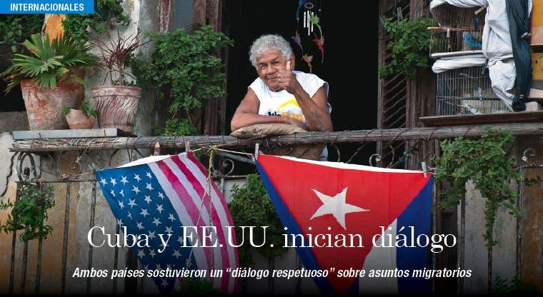 Cuba y EE.UU. inician diálogo con posturas migratorias