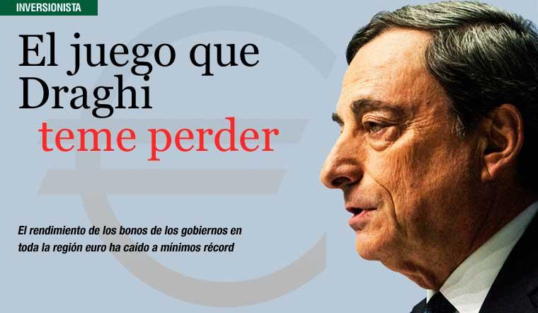 El juego que Draghi teme perder