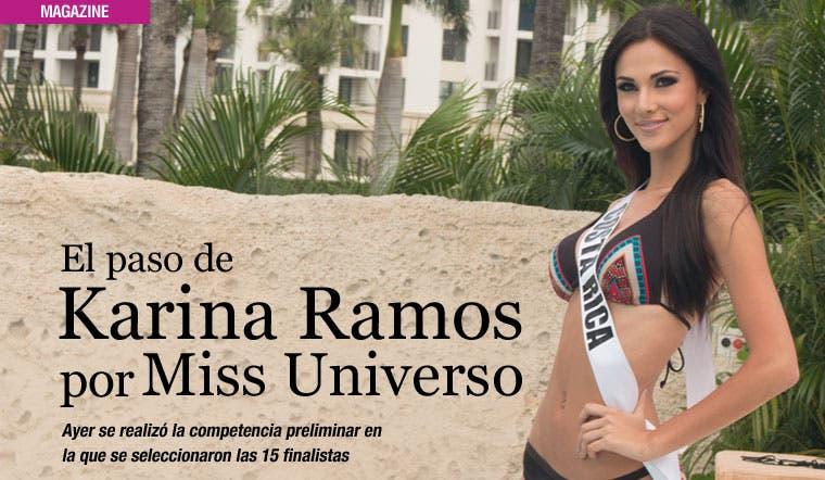 El paso de Karina Ramos por Miss Universo