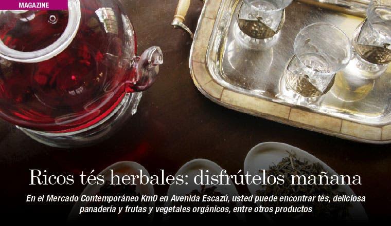Ricos tés herbales: disfrútelos mañana