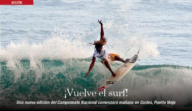 ¡Vuelve el surf!