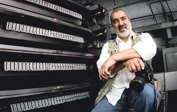 Fotógrafo Marco Monge recibió premio Pío Víquez por sus 25 años en La República