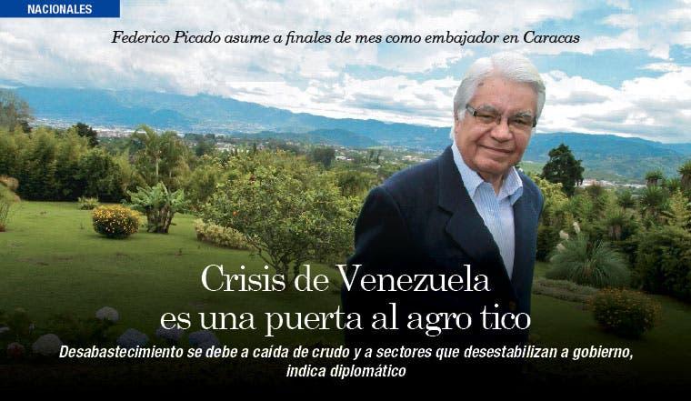 Crisis de Venezuela es una puerta al agro tico