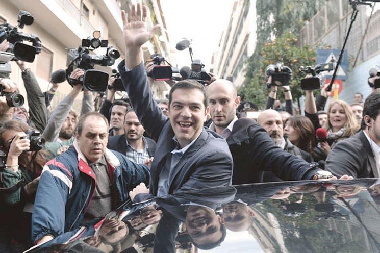 Clara victoria de Syriza en elecciones griegas
