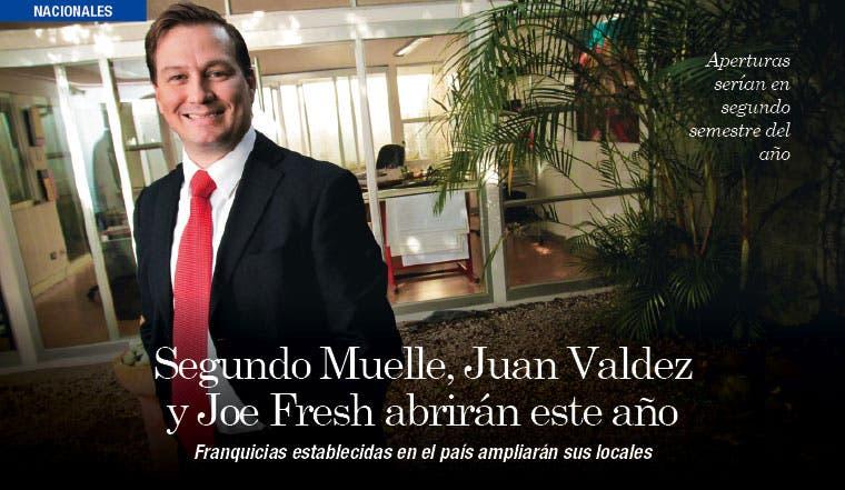 Segundo Muelle, Juan Valdez y Joe Fresh abrirán este año