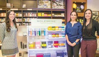 Libretas Moleskine ya están en el país
