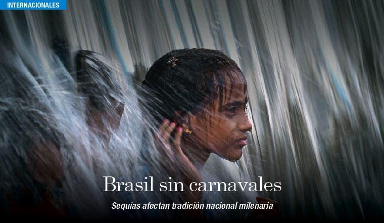 Brasil se queda sin carnavales