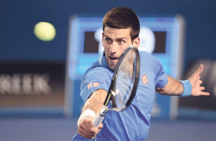 Djokovic a paso perfecto