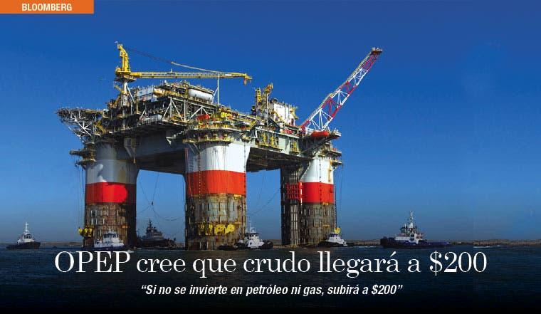 Secretario de OPEP estima que crudo llegará a $200
