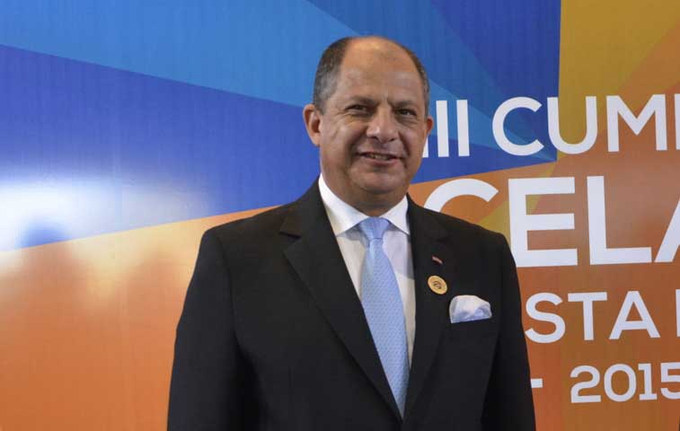 Solís llama a la unidad en discurso inaugural de Celac