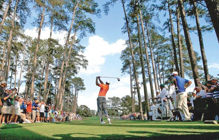 El reto de Tiger Woods