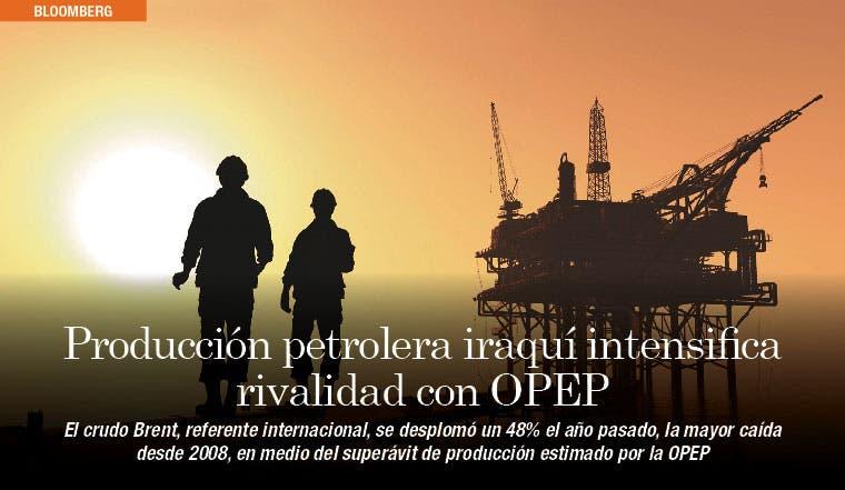 Producción petrolera iraquí intensifica rivalidad con OPEP