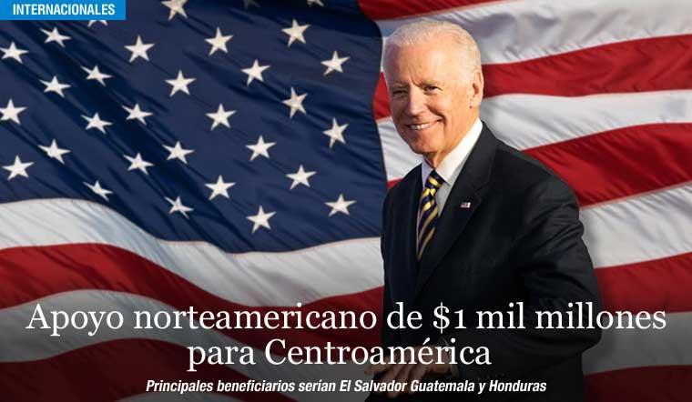 Apoyo norteamericano de $1 mil millones para Centroamérica