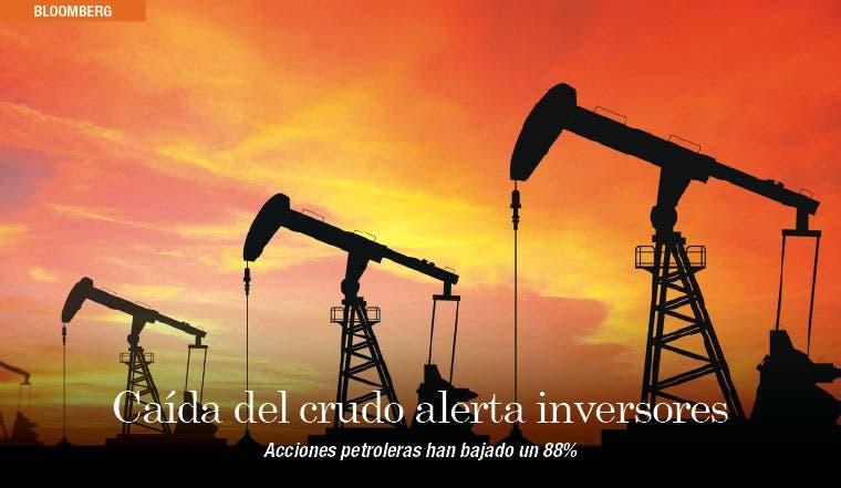 Caída del crudo cuesta $390 mil millones a inversores en EE.UU.