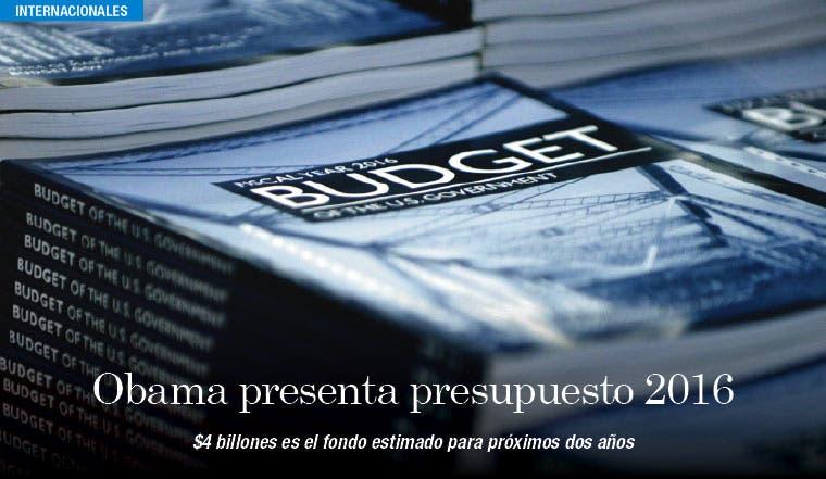 Obama presenta presupuesto de $4 billones para 2016