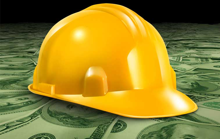Cae crédito para construcción