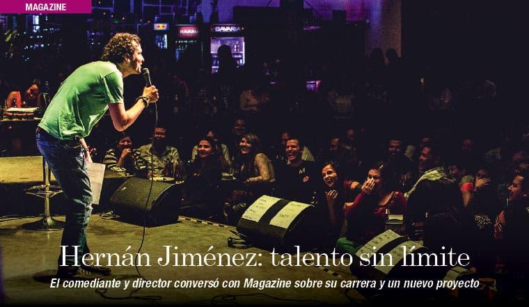 Hernán Jiménez: talento sin límite