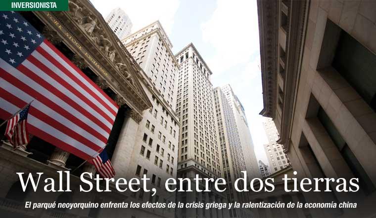 Wall Street, entre dos tierras