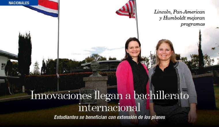 Innovaciones llegan a bachillerato internacional