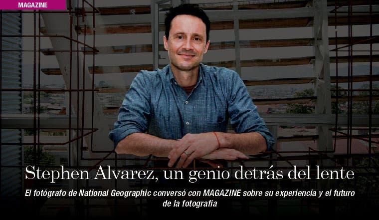 Stephen Alvarez, un genio detrás del lente
