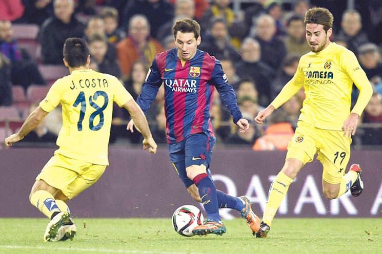 Barça complica al Villarreal