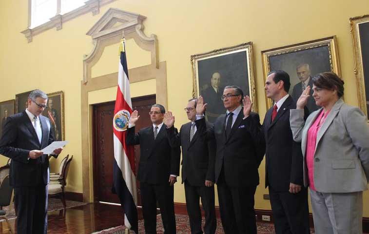 Gobierno designa a embajadores de Brasil, Chile, Cuba y OEA