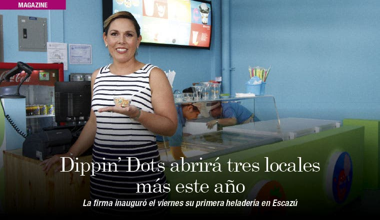 Dippin' Dots abrirá tres locales más este año