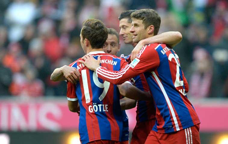 Bayern Munich aplasta 8-0 al Hamburgo