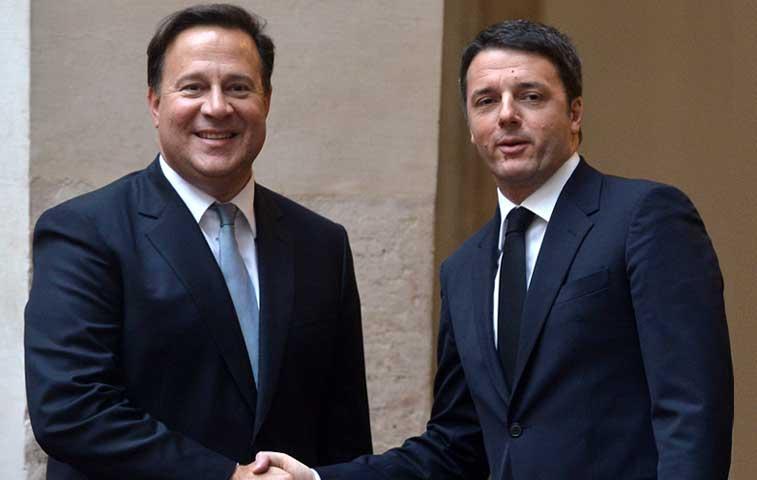 """Italia y Panamá inician """"la vía del diálogo"""" por caso Finmeccanica"""