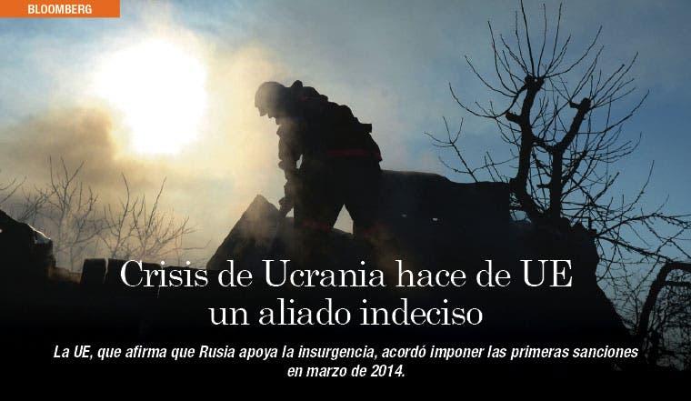 Crisis de Ucrania hace de UE un aliado indeciso