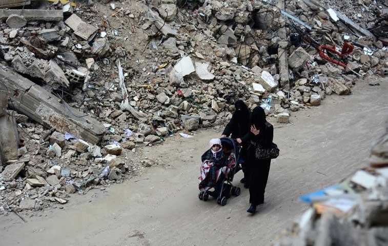 EE.UU. dona $125 millones para víctimas del conflicto sirio