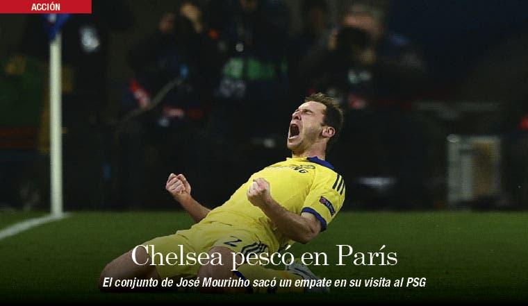 Chelsea apagó al PSG