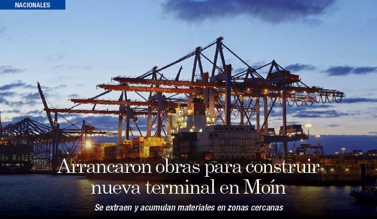 Arrancaron obras para construir nueva terminal en Moín