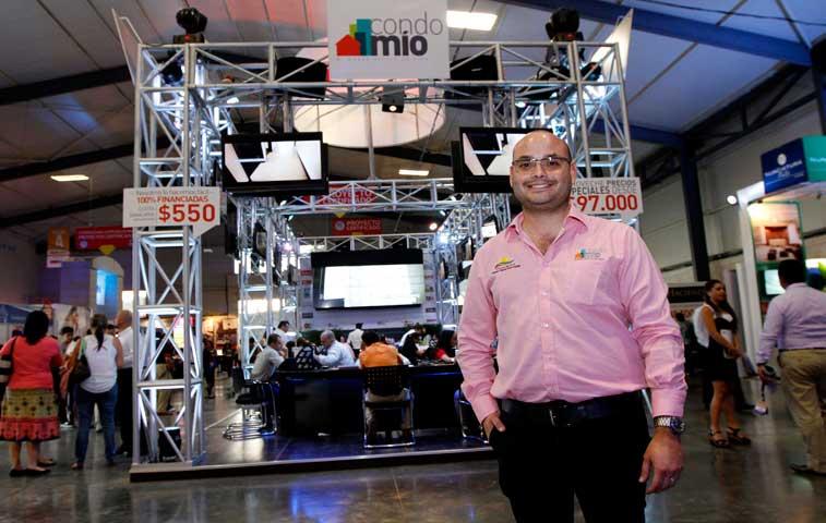 Vender 75 unidades es la meta de CondoMío en ExpoConstrucción