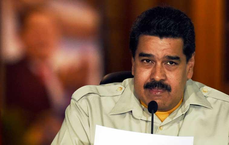 """Maduro denuncia una """"campaña de odio"""" contra Venezuela"""