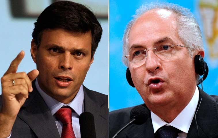 Asamblea tica pide asilo político para Antonio Ledezma y Leopoldo López