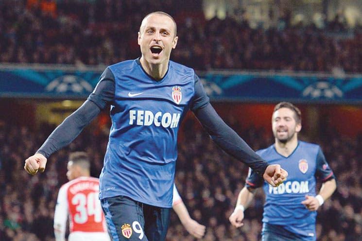 Mónaco noquea al Arsenal