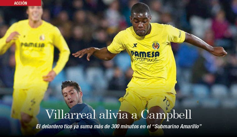 Villarreal, luz para Campbell