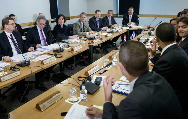 EE.UU. y Cuba mantienen su segunda ronda de negociación