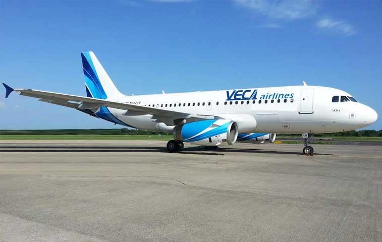 Costa Rica se suma a las rutas que opera Veca Airlines