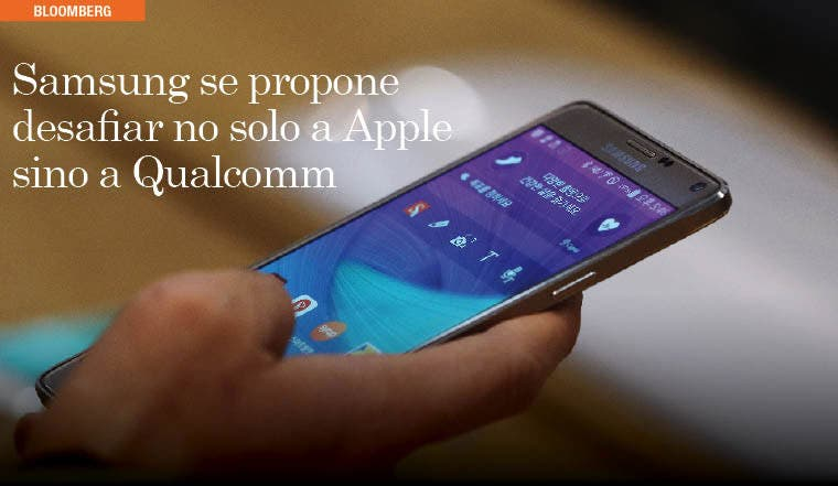 Samsung se propone desafiar no solo a Apple sino a Qualcomm