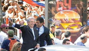 Ministros de Vázquez asumen sus cargos ante el nuevo presidente uruguayo