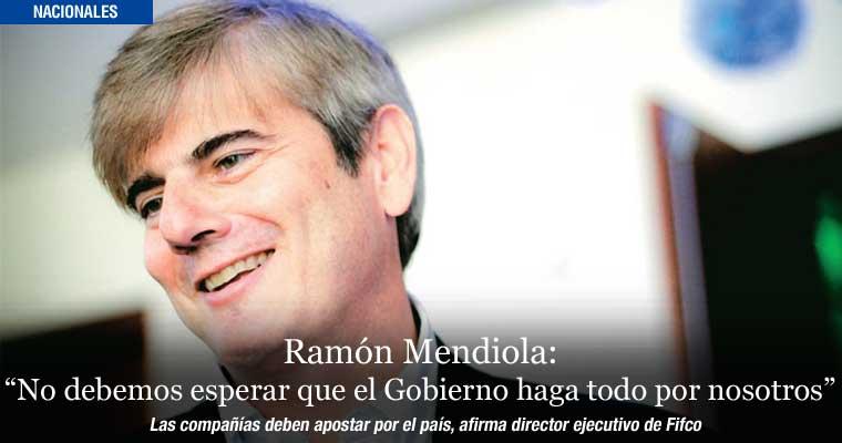 """Ramón Mendiola: """"No debemos esperar que el Gobierno haga todo por nosotros"""""""