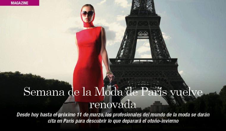 Semana de la Moda de París vuelve renovada