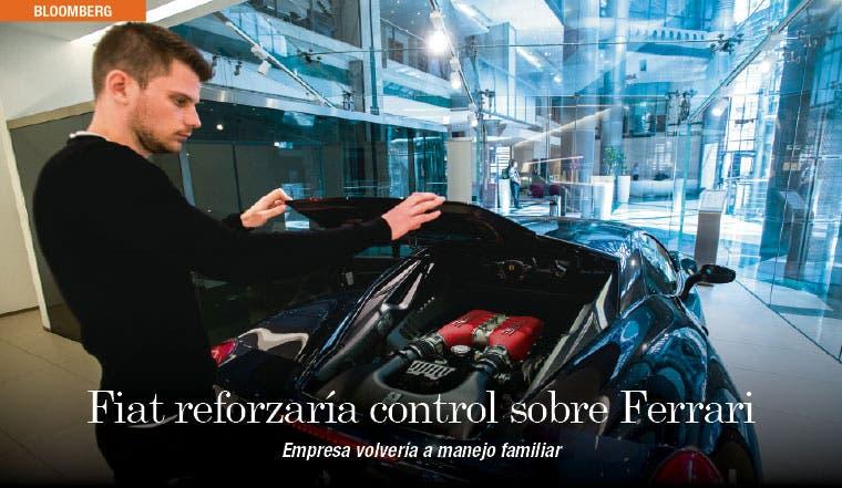 Fiat reforzaría su control sobre Ferrari