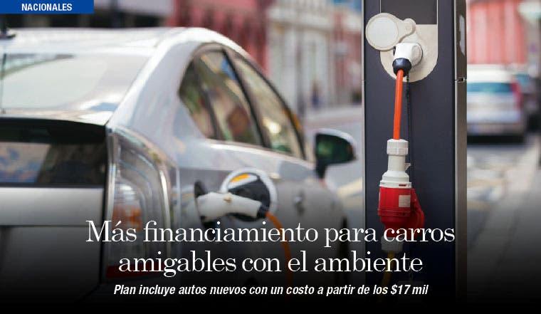 Más financiamiento para carros amigables con el ambiente