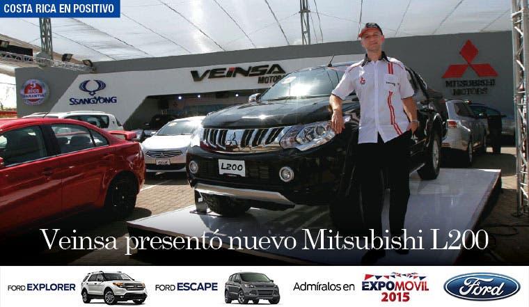 Veinsa presentó nuevo Mitsubishi L200